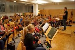Gemeinschaftsprobe Jungmusikerkonzert 27.11.2015
