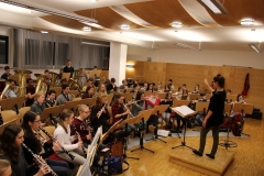Gemeinschaftsprobe Jungmusikerkonzert 04.03.2016