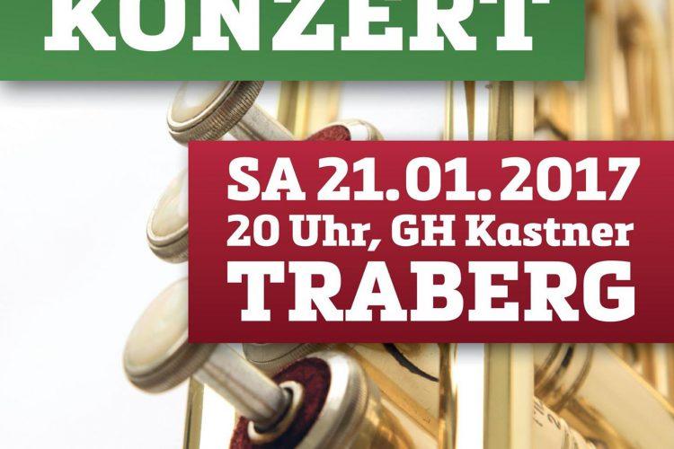 """Jubiläumskonzert des MV Traberg """"Musikalische Zeitreise"""""""